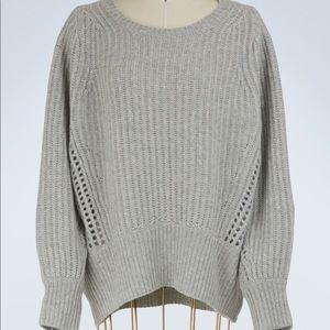 NWT RAG & BONE 100% cashmere pullover sweater.